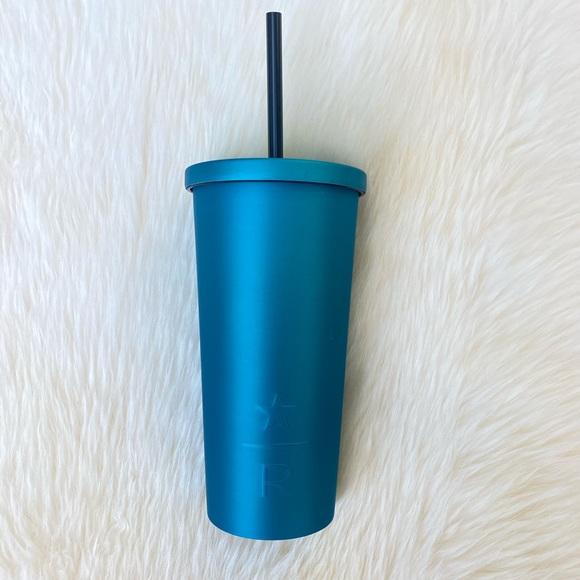 Starbucks Other - Starbucks Reserve Teal Matte Soft Touch Tumbler